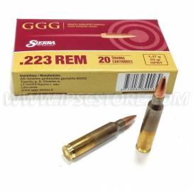 GGG .223REM Sierra HPBT 69gr