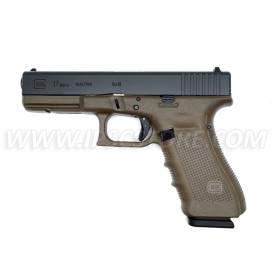 Püstol Glock17 Gen4 FDE, 9x19mm