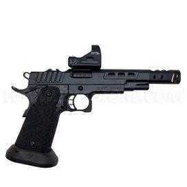 Pistola STI DVC O, 9mm, Full Black DLC