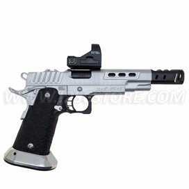 STI DVC O, 9mm, Hard Chrome with Black DLC Barrel, Used