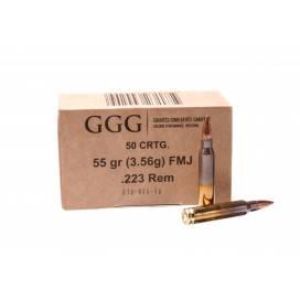 Патроны GGG .223REM 50шт.
